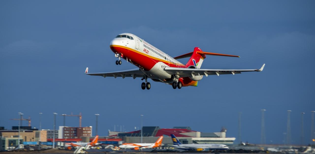 AJW facilitates first COMAC aircraft crosswind testing