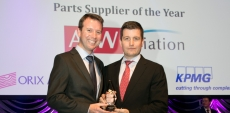 AJW wins 'Parts Supplier of the Year' for fifth year running